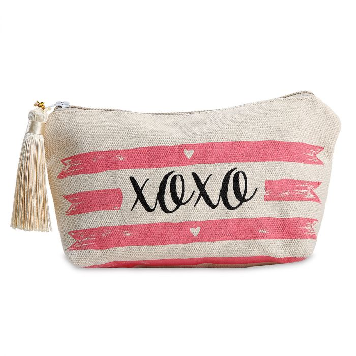 XOXO Canvas Cosmetic Bag - BOGO