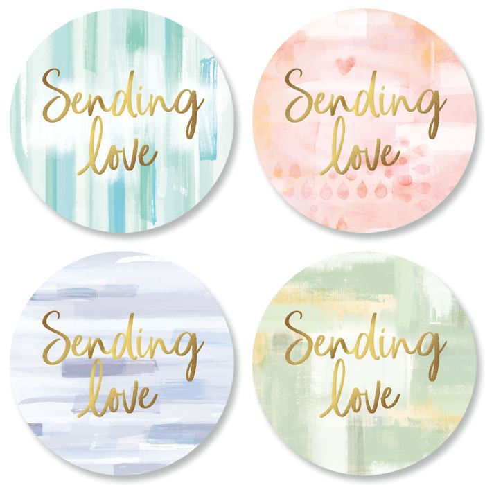 Brush Strokes Seals (4 Designs)
