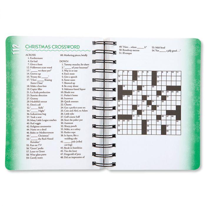 Christmas Brain Games™ Book