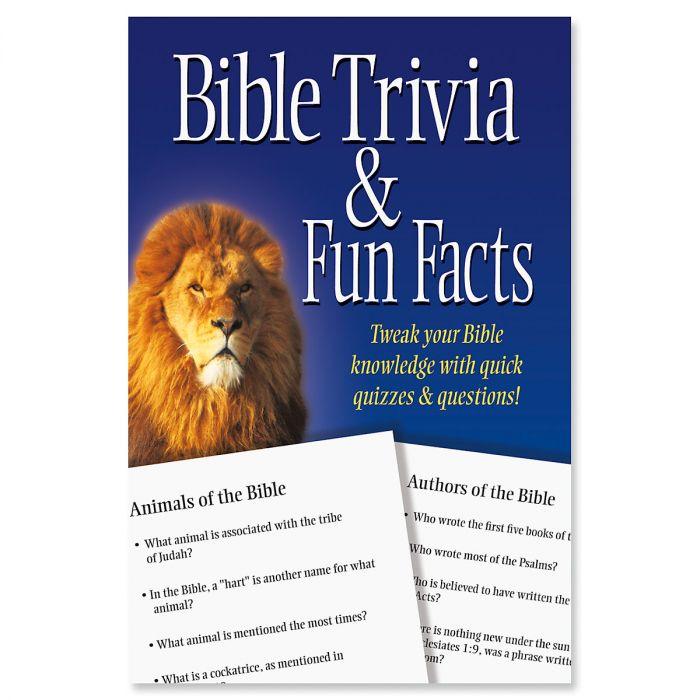 Bible Trivia & Fun Facts Book