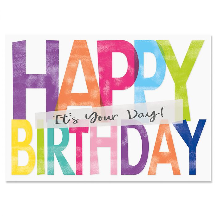 It's Your Day Birthday Cards - BOGO