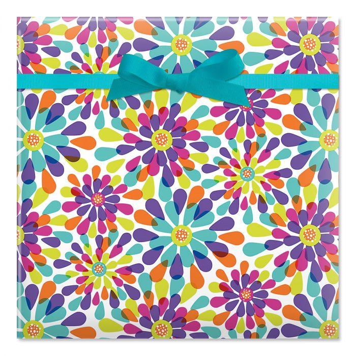 Color Splash  Jumbo Rolled Gift Wrap