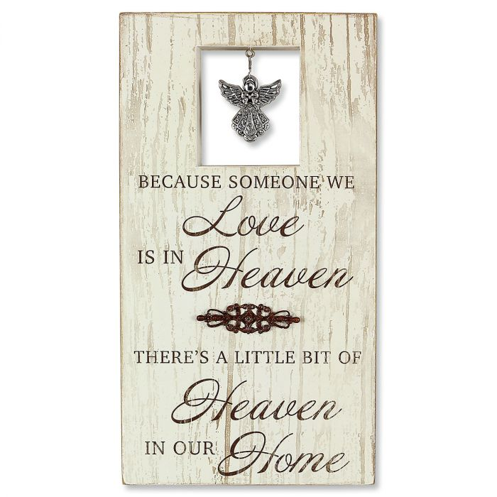 In Heaven Tabletop Sign