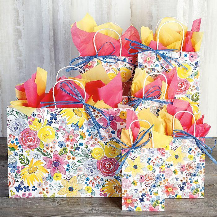 Floral Gift Bag Value Pack