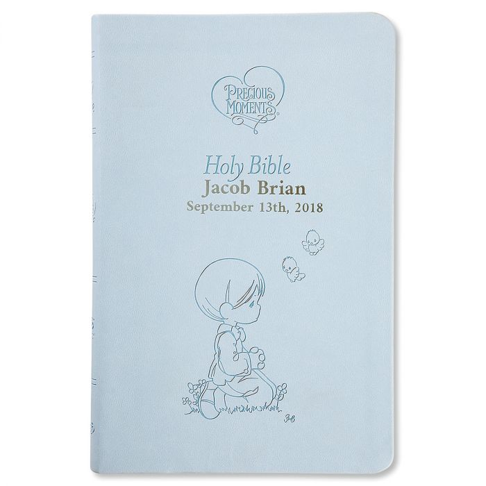 Blue Personalized Bible by Precious Moments®