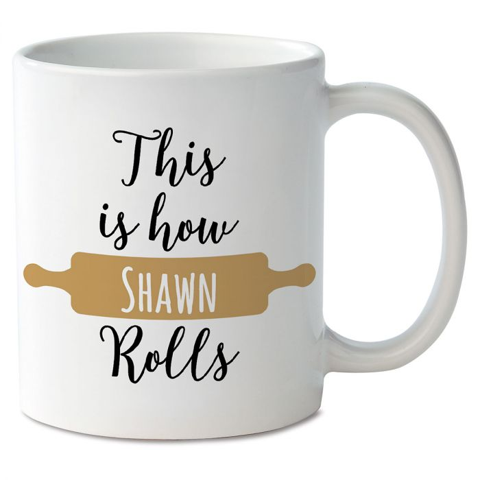 This is How I Roll Personalized Mug