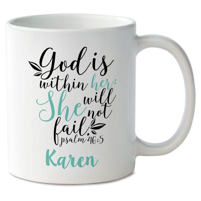 God Within Her Personalized Mug