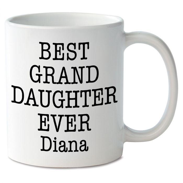 Best Granddaughter Ever Personalized Mug