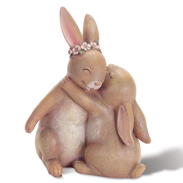 Hugging Bunny Duo