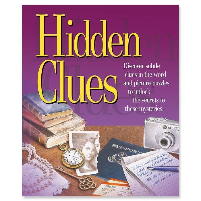 Hidden Clues Activity Book