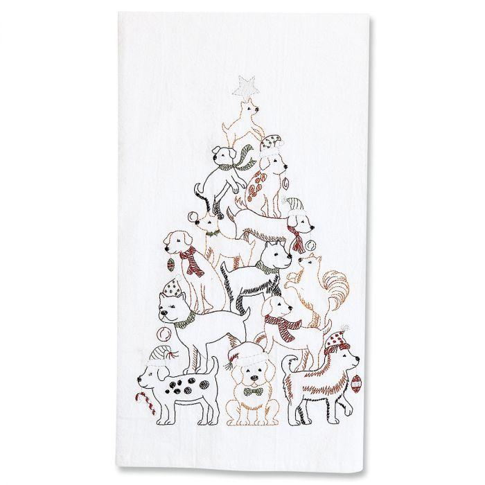 Pet Christmas Tree Towels