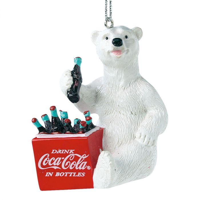 Coca-Cola® Polar Bear Cooler Ornament