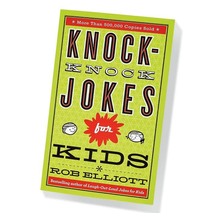 Knock-Knock Laugh Out Loud Kids' Jokes Book by Rob Elliott