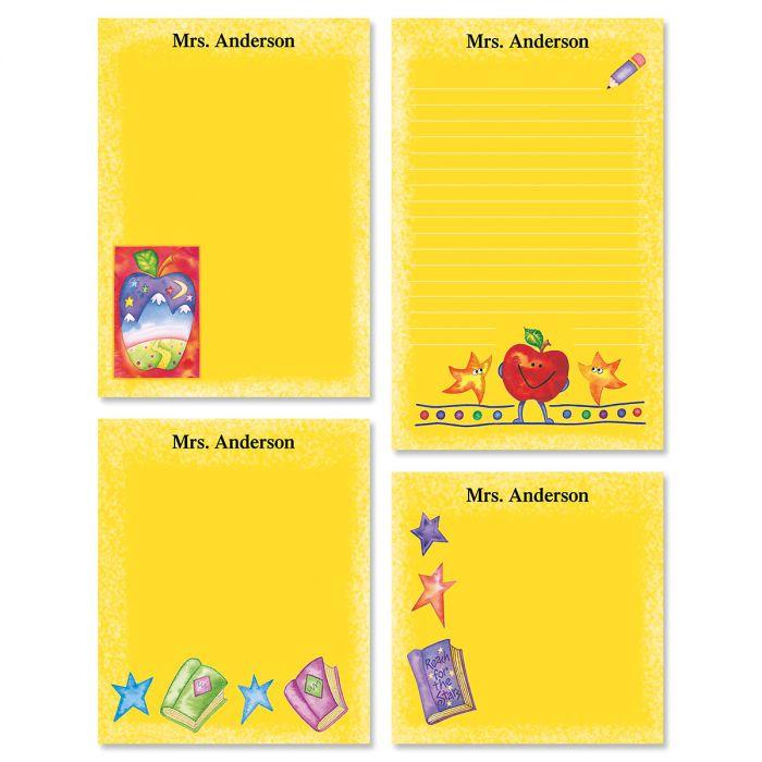 Teacher Personalized Notepad Set