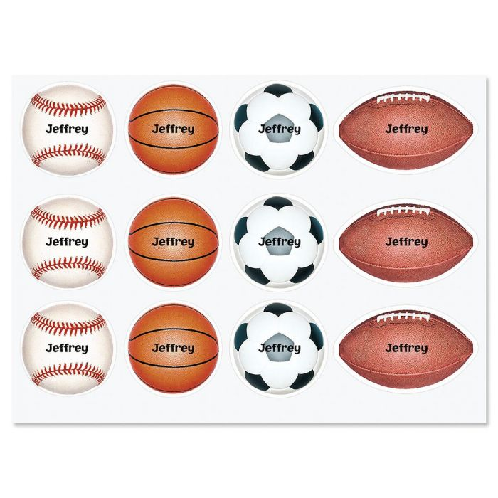 Sports Personalized Stickers