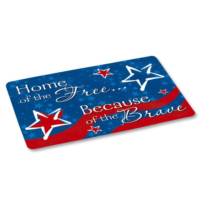 Home of the Free Floor Mat