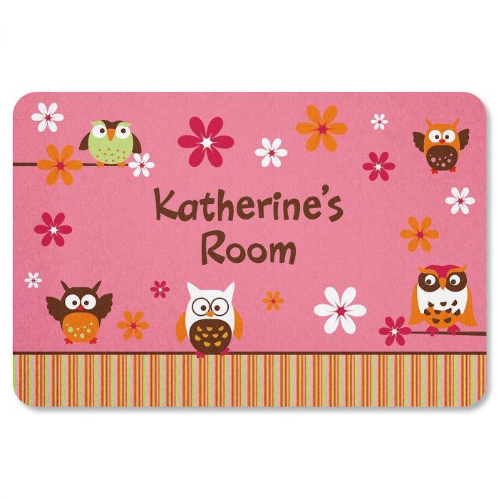 Owl Floor Mat