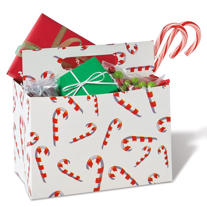 Candy Cane Gift Carrier