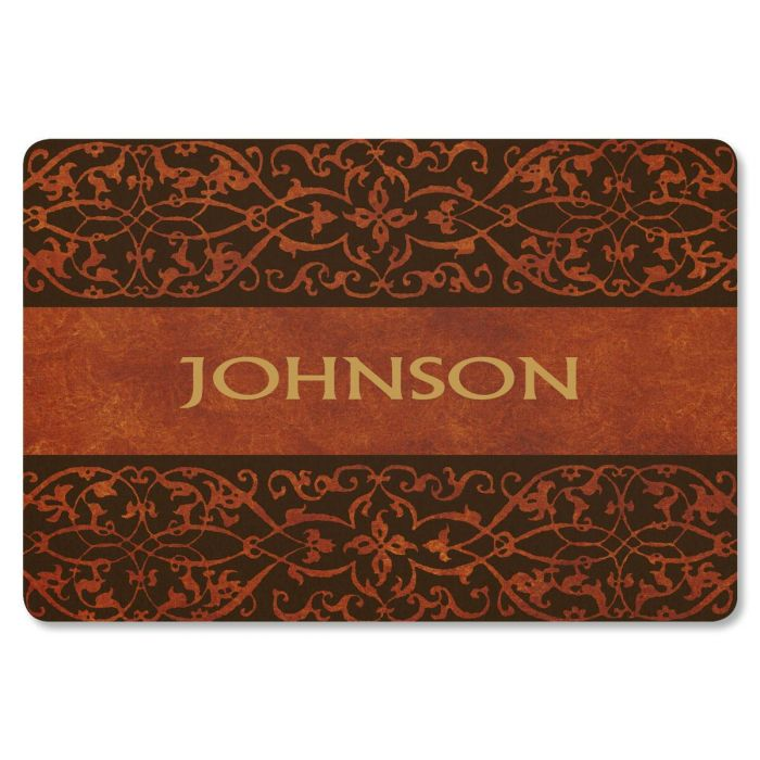 Welcome Personalized Welcome Doormat