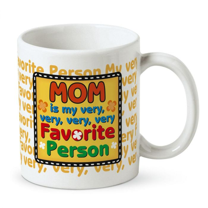 My Very Favorite Person Personalized Mug