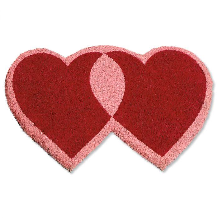 Heart-Shaped Diecut Coco Mat