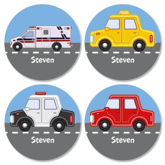 Vehicles Kids' Stickers