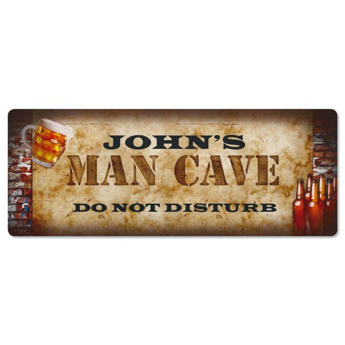 Man Cave  Double-Width Floor Mat