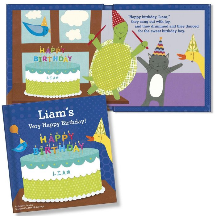 My Very Happy Birthday Personalized Storybook