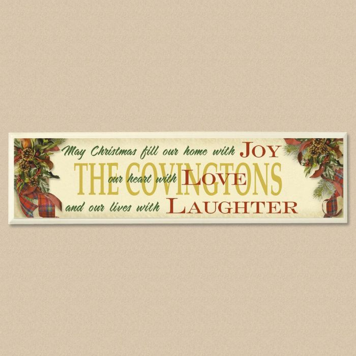 Home With Joy Plaque