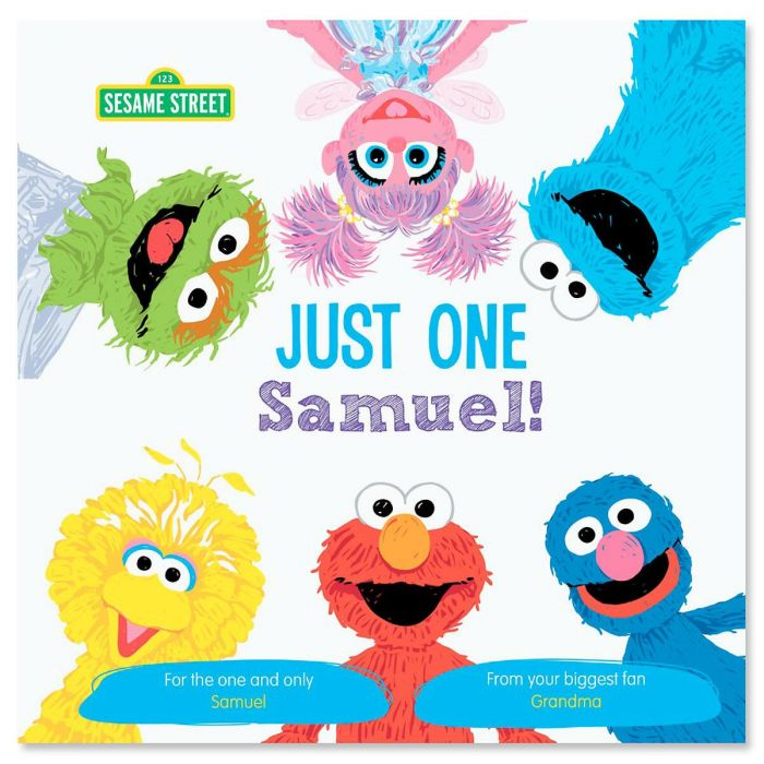 Just One You Sesame Street Personalized Storybook
