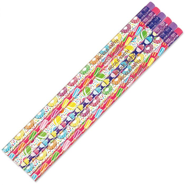 Personalized Sweet Things Pencils