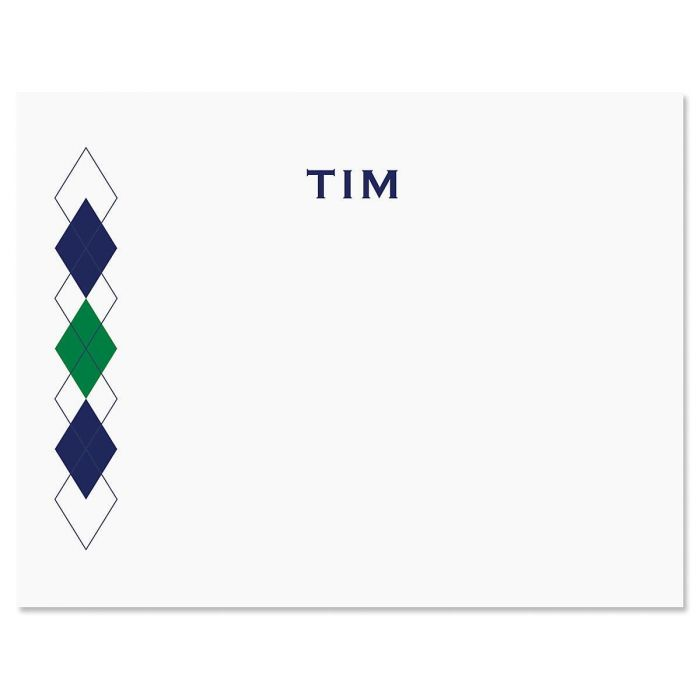 Side Diamond Note Cards