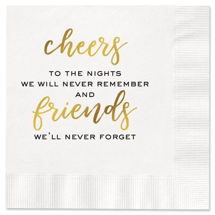 Friends Cocktail Napkins