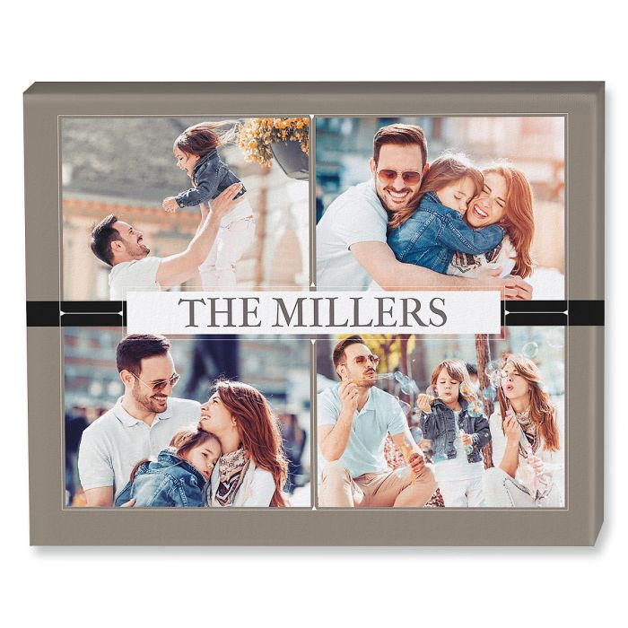 Classic Photo Collage Canvas Photo Print