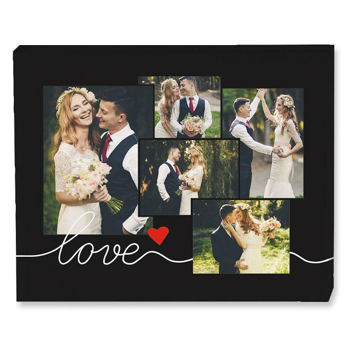 Love Collage Photo Canvas