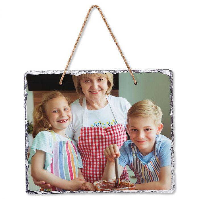 Personalized Photo Hanging Stone