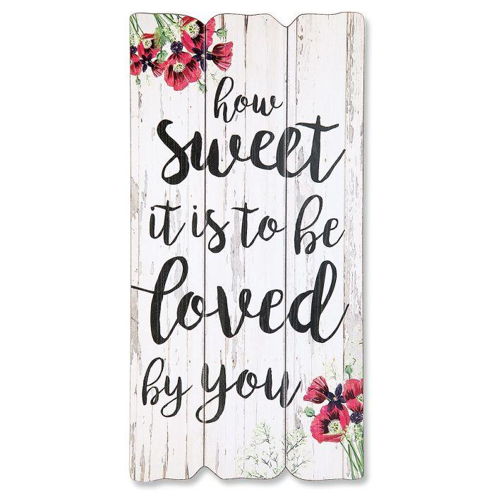 How Sweet It Is Plaque