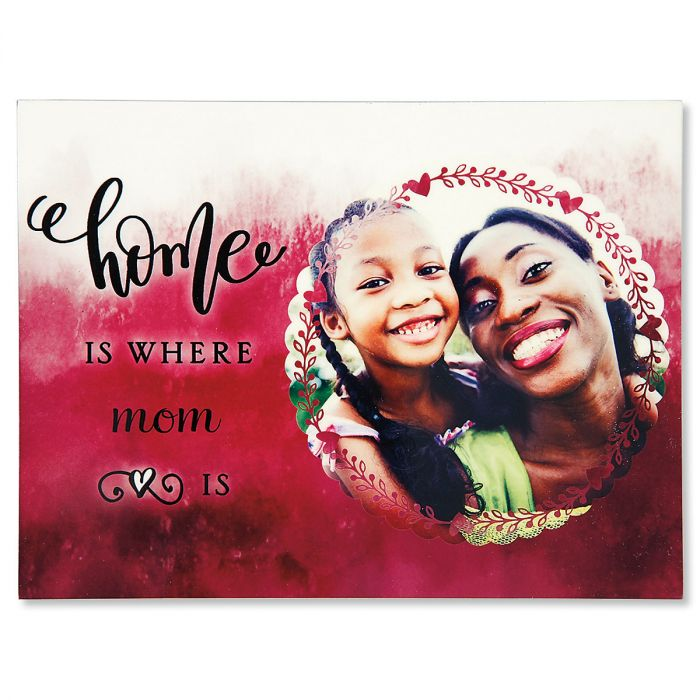Watercolor Photo Plaque