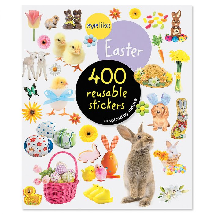 Reusable Easter Sticker Book