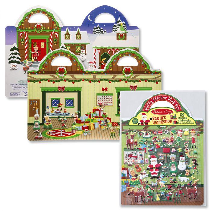 Melissa and Doug® Puffy Sticker Set - Santa's Workshop