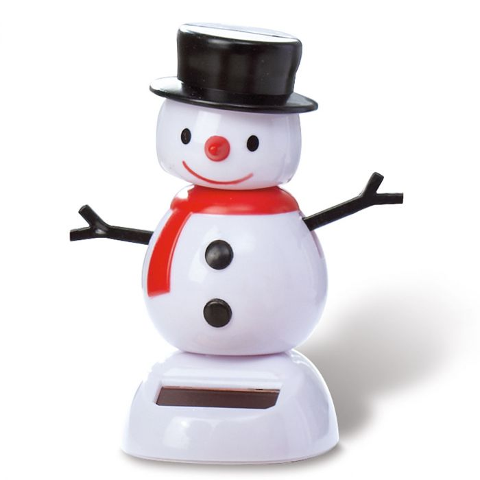 Snowman Solar Dancer