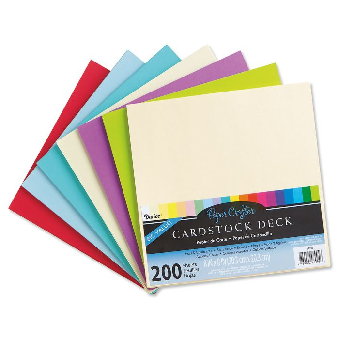 Sheets of Cardstock