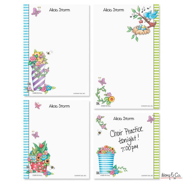 Mary Engelbreit® Personalized Notepad Set
