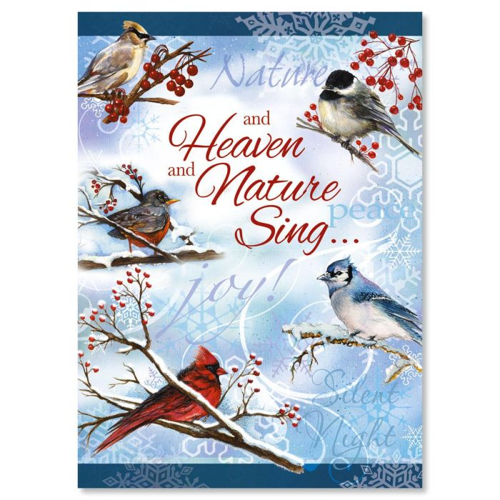 Winter Carol Christmas Cards