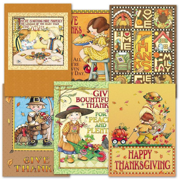 Mary Engelbreit Thanksgiving Cards | Current Catalog