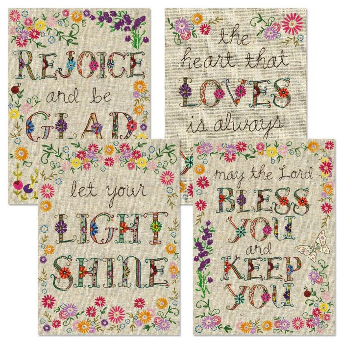 Expressions of Faith® Handstitched-Style Birthday Cards