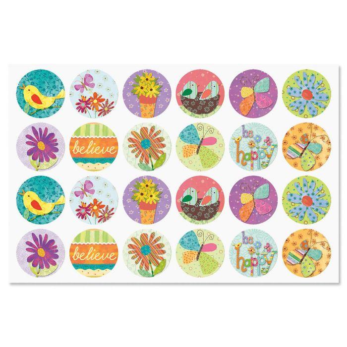 Cheery Day Envelope Sticker Seals