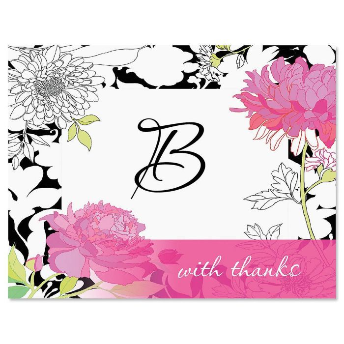 Just One Personalized Thank You Card