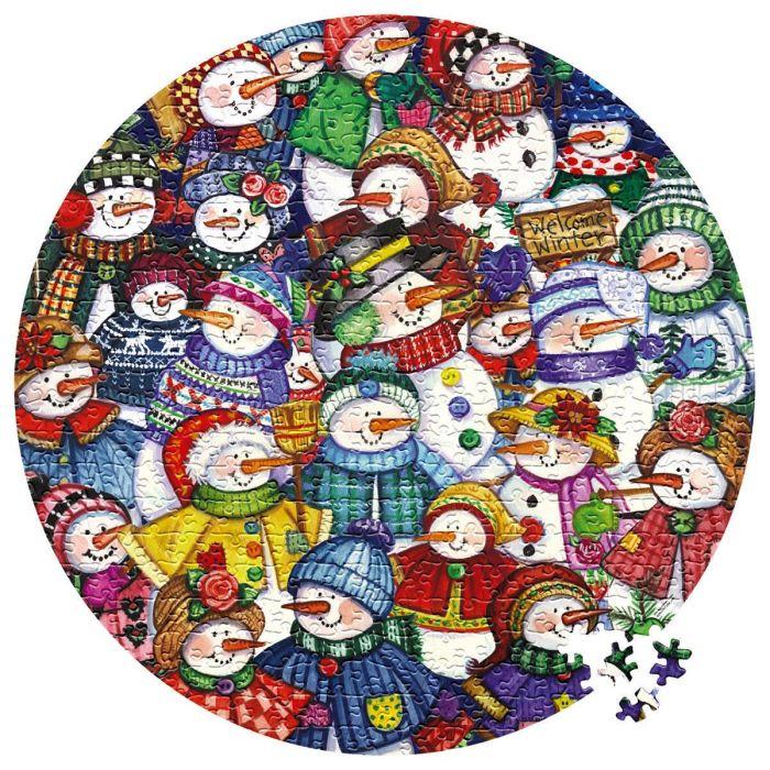 Snow Happy Puzzle