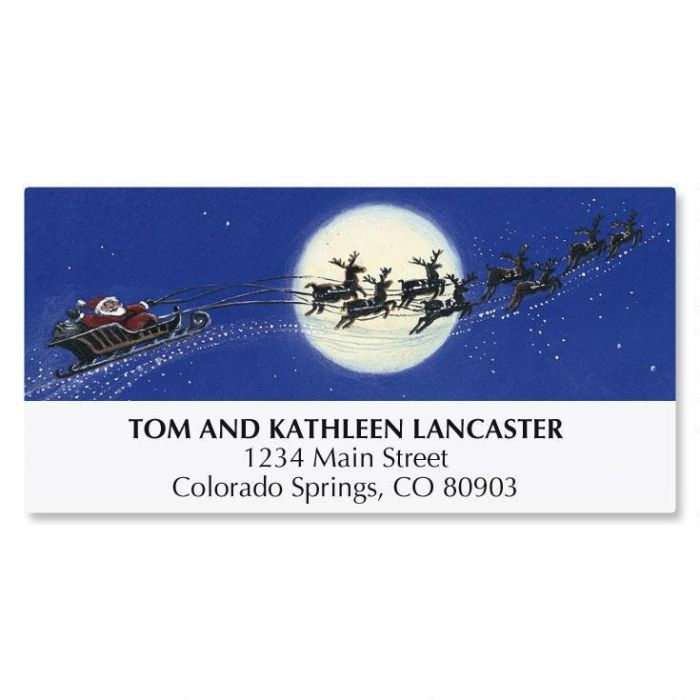 Christmas Dreams Christmas Address Labels